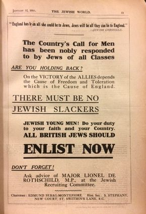 The Jewish World 12/01/1916