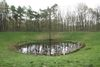 Caterpillar Crater.  We Were There Too trip to Ypres, April 2017. By Alan Brill, Voluntary Photographer