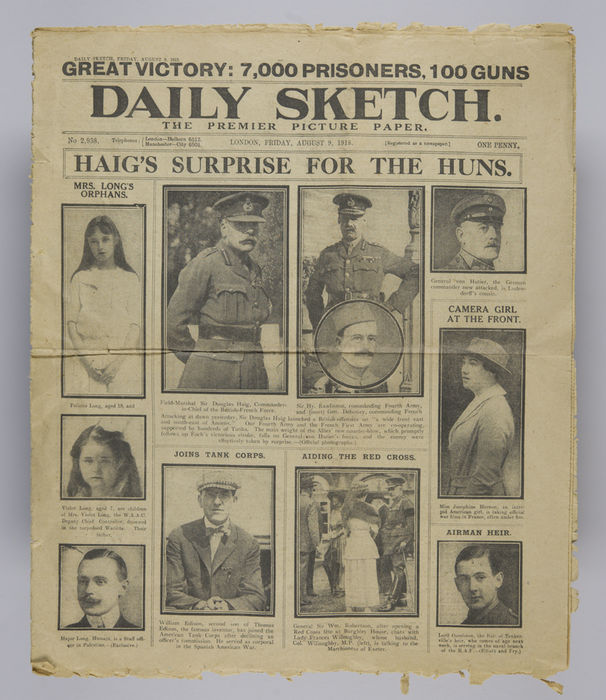 Newspaper asking for news of Israel Mordecai Kay. ©Jewish Museum London/Jewish Military Museum