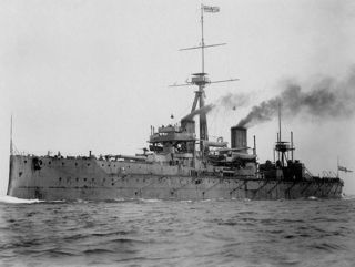 The Royal Navy's HMS Dreadnought, the world's first dreadnought. Public Domain