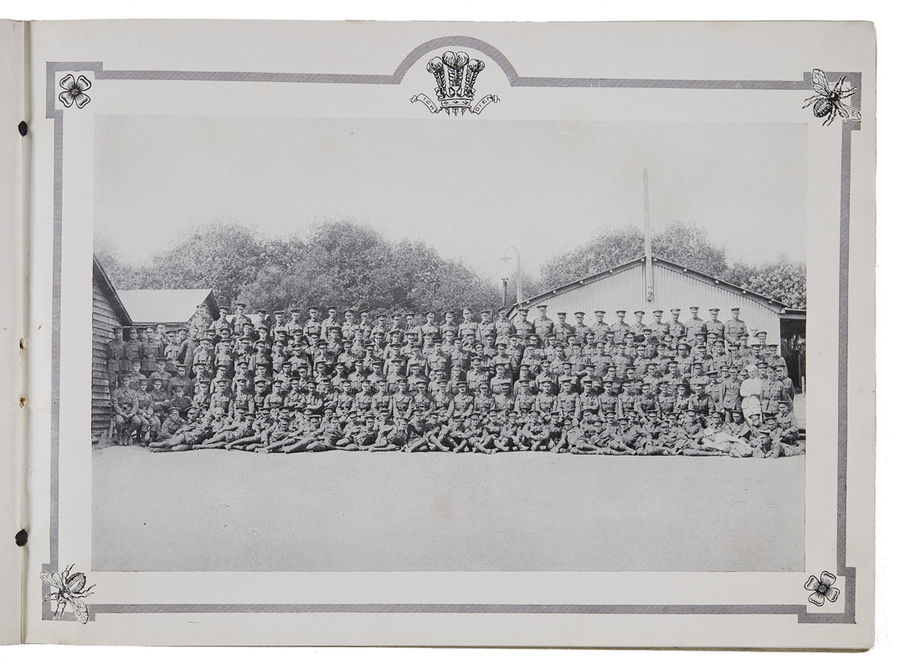 Booklet of the 2/15th Battalion County of London Regiment. Prince of Wales Own Civil Service Rifles. ©Jewish Museum London/Jewish Military Museum
