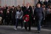 Rachel Fellman, We Were There Too, and , Jack Sanders JLGB with a serving Jewish British Officer laying a wreath at the Menin Gate