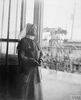 Miss Minns, QAIMNS, Matron of a Hospital on the Quay at Le Havre. © IWM (Q 8051)