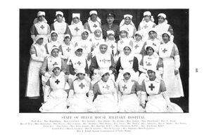 Jewish nurses. The British Jewry Book of Honour.