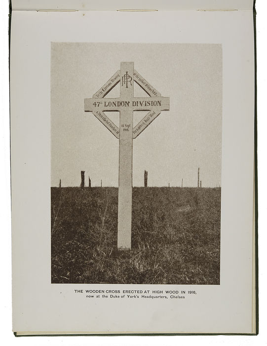 47th (London) Division War Memorials. High Wood and Martinpuch. ©Jewish Museum London/Jewish Military Museum