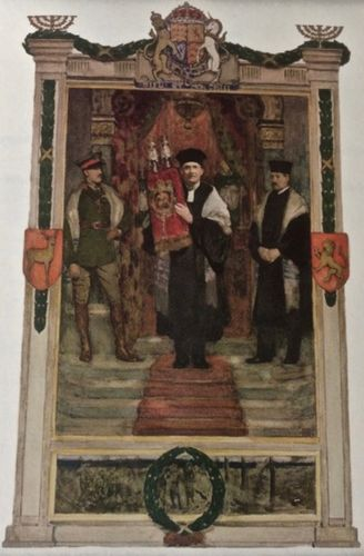 Painting by Solomon J Solomon presented to the Jewish Memorial Council in June 1921. The Jewish Memorial Council A History 1919–1999, Alexander Rosenzweig.