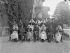 The Commanding Officer of one of the Casualty Clearing Stations and his staff. © IWM (Q 26683)