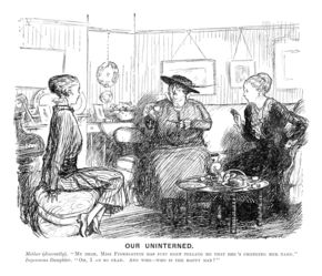 Our Uninterned. Punch magazine, October 1915. © Punch Limited
