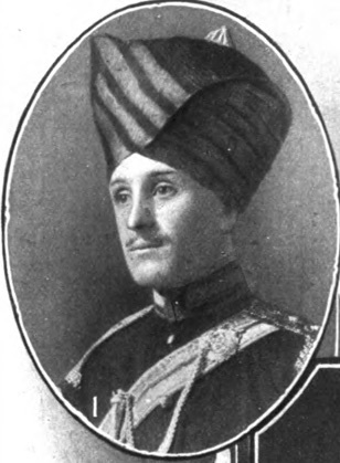 Lieut. F.A. De Pass, Poona Horse. British Jewry Book of Honour