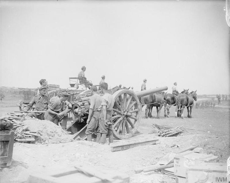 The Battle of the Somme. Battle of Pozieres Ridge. August 1916. © IWM (Q 4090)