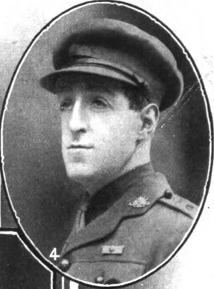 Lieut. Leonard Keyser, 1st Australian Infantry. British Jewry Book of Honour
